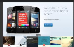 CardFlick web para freelancers